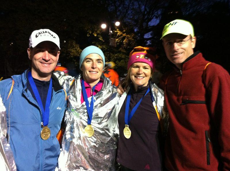 NYC Marathoners