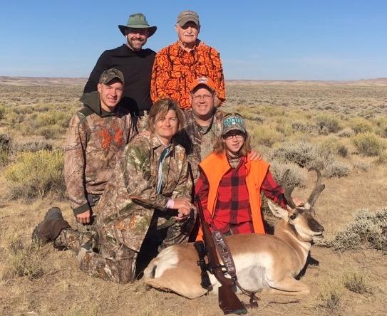 Wyoming-Manth Family