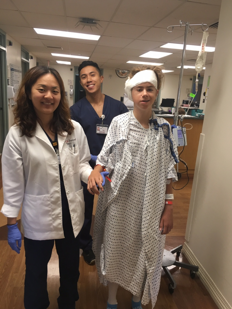 Leah LA Surgery Day2